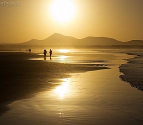 Lanzarote: Playa de Famara