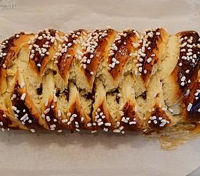 La treccia danese alla nutella