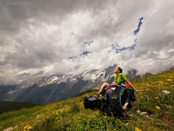 Tour Mont Blanc: giorno 1