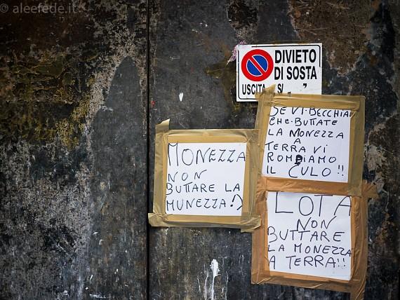 A spasso per le vie di Napoli