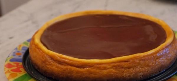 Cheesecake con quello che si trova in frigorifero…