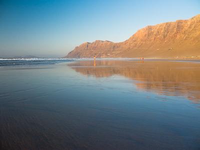 lanzarote spiaggia playa famara