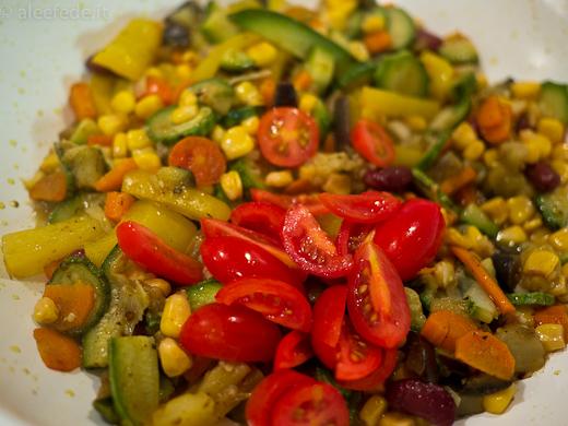 cous cous verdure pomodorini