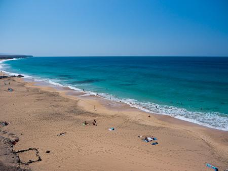 spiaggia mare el cotillo