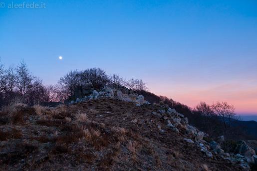 luna gelida inverno apuane