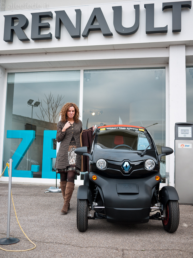 reanult twizy firenze