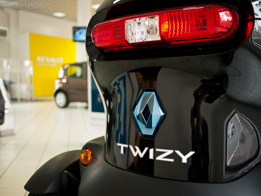 twizy posteriore renault
