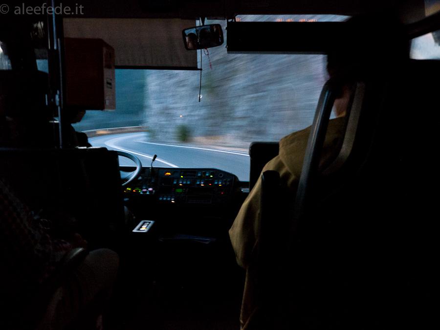 autobus positano sorrento