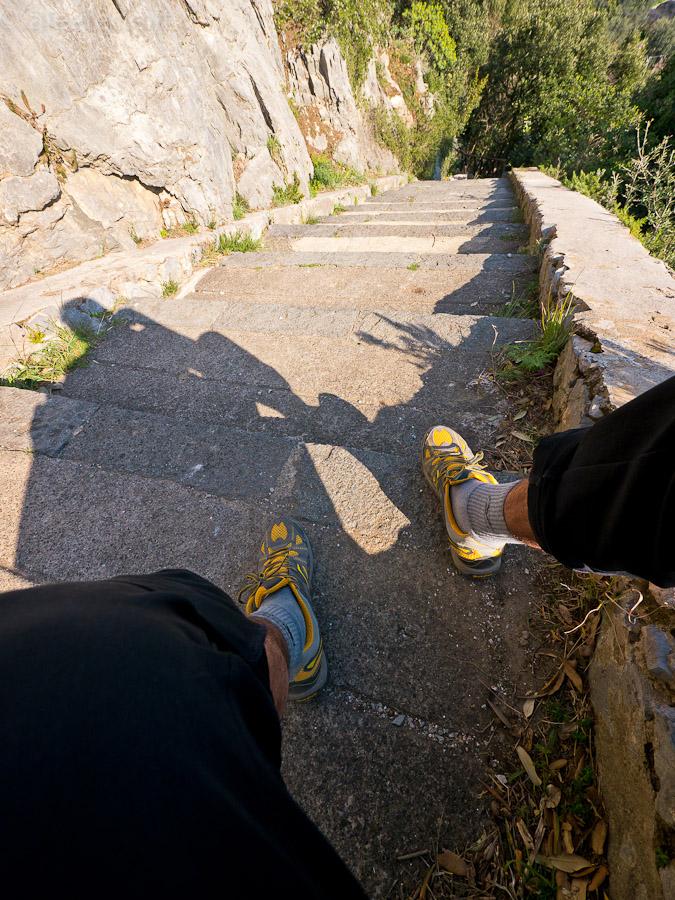 scalinata nocelle positano sentiero degli dei