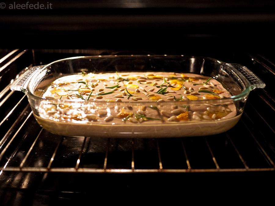 castagnaccio toscano forno