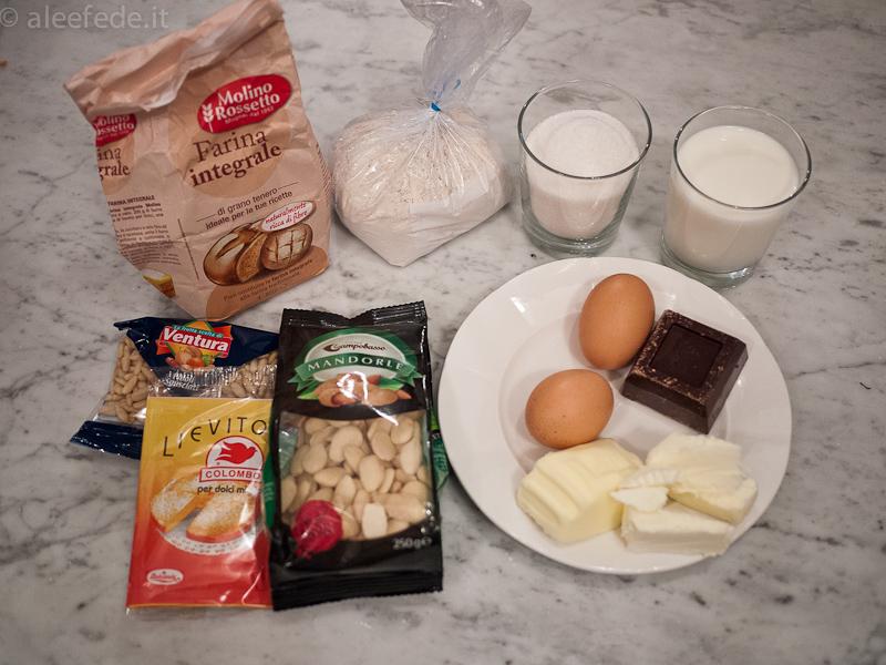 torta cioccolato farina castagne