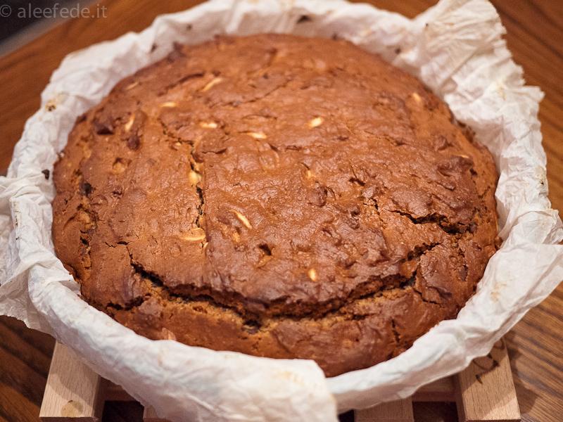 torta cioccolato e farina di castagne