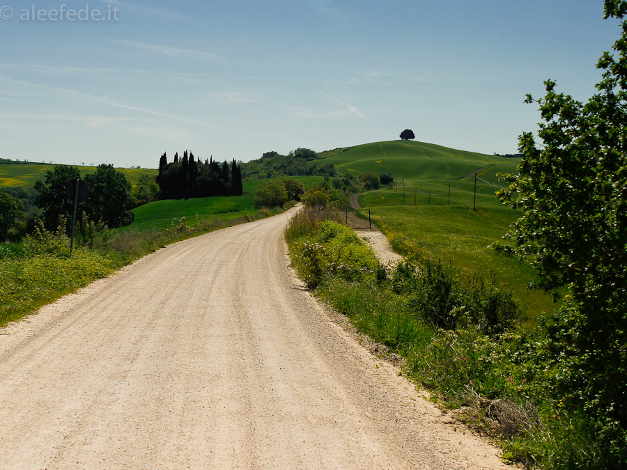 strade bianche valdorcia bici
