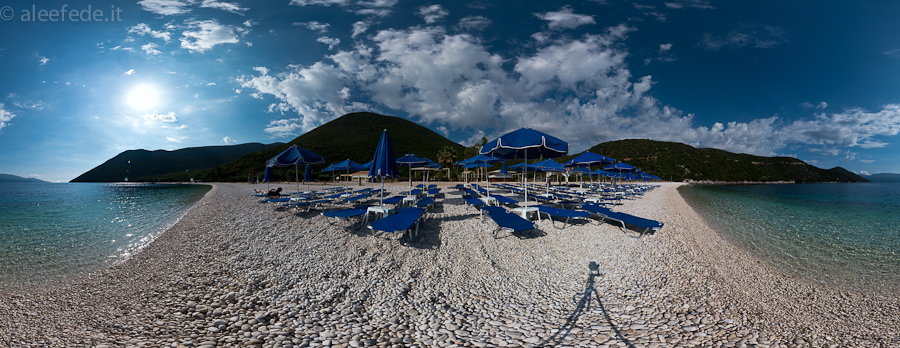 antisamos beach panorama