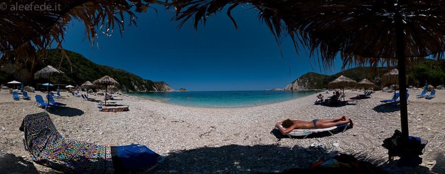 petani beach cefalonia