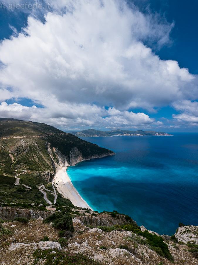 myrtos beach spiaggia cefalonia
