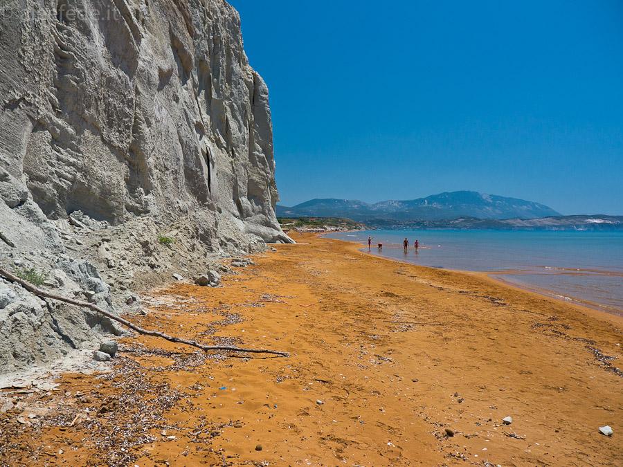 spiaggia di xi cefalonia