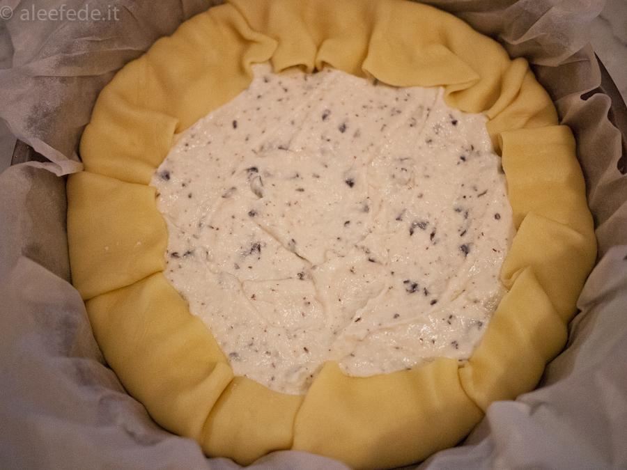 crostata cioccolato e ricotta