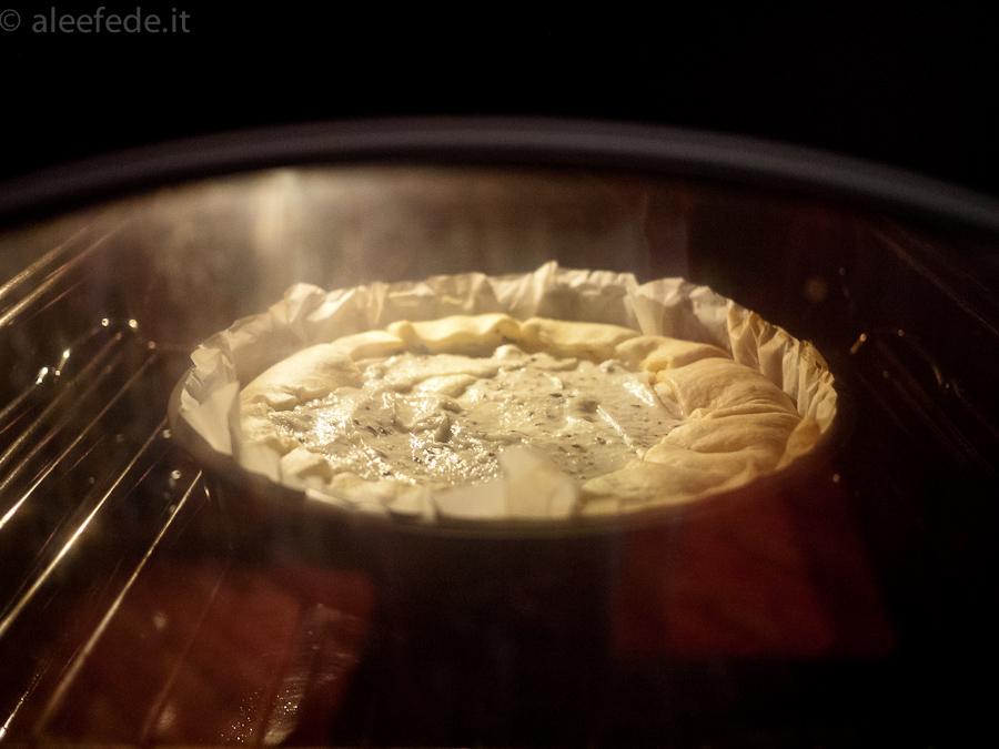 crostata al forno