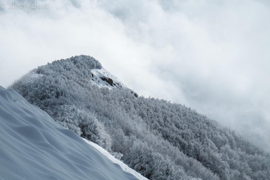 passo della nevaia ciaspole