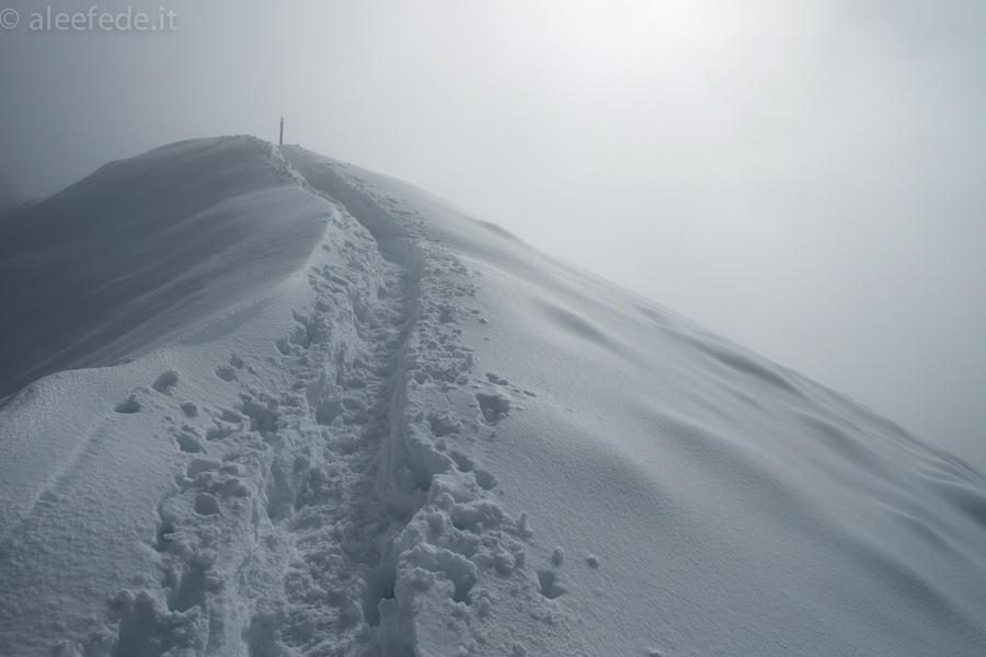 nuvole passo della nevaia