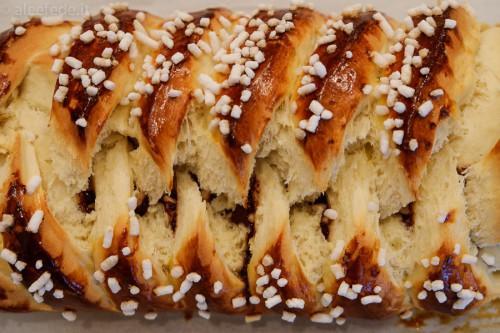 ricetta treccia danese nutella