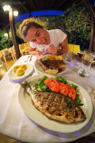 pesce cena pranzo grecia