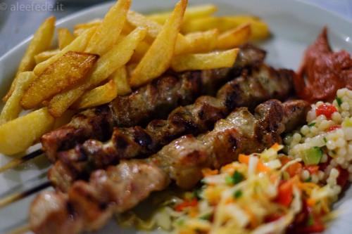 souvlaki grecia pollo cena