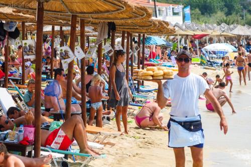 bomboloni spiaggia penisola calcidica