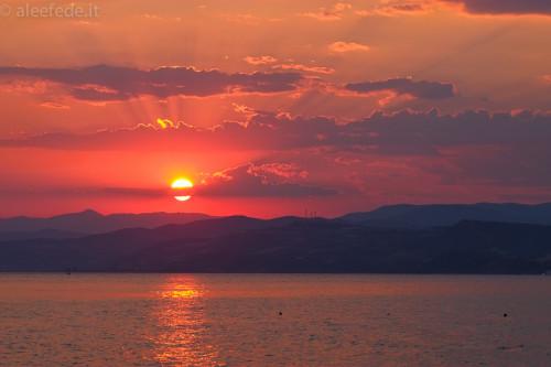 tramonto ouranopolis