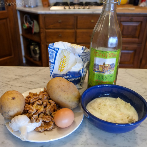 ingredienti gnocchi patate